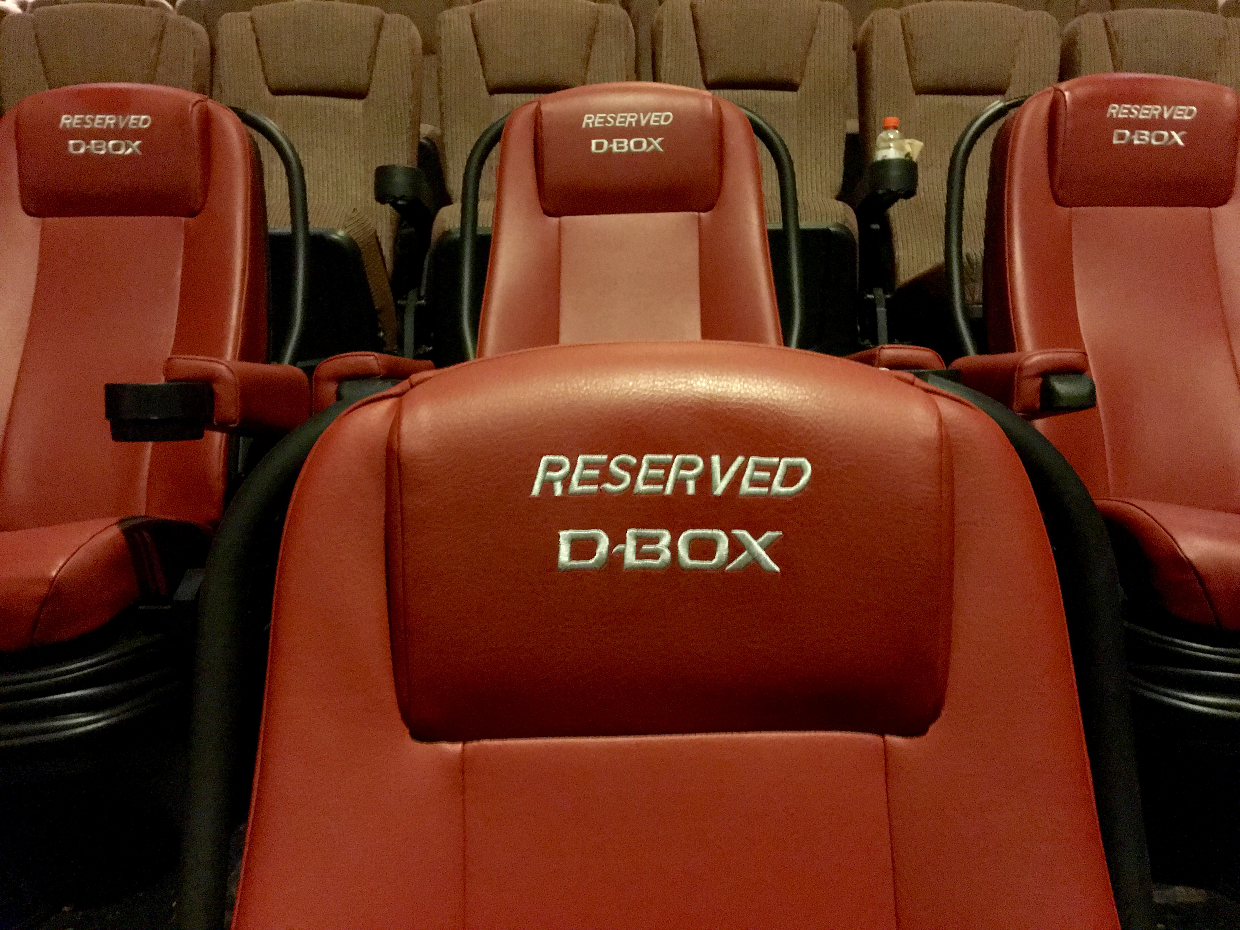 Two Rows of Reserved Seats
