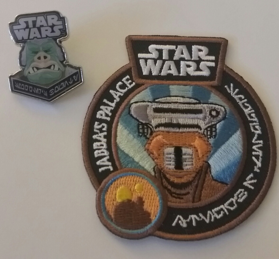 Rancor pin and Boushh patch