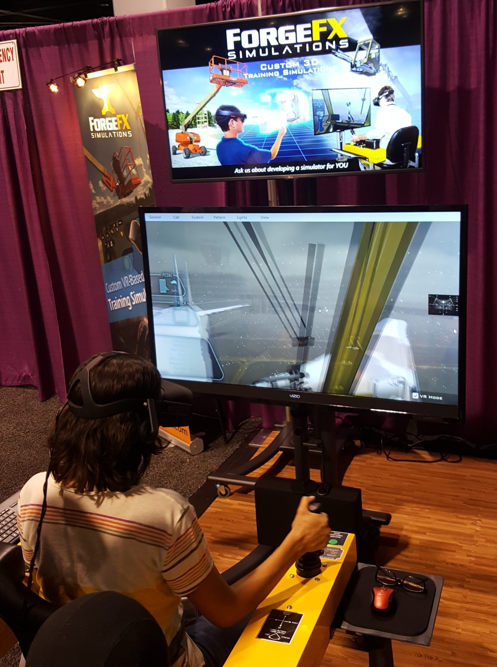 Even  VR Job Simulators found a place at Siggrpah 2016 to show off how far they have come.