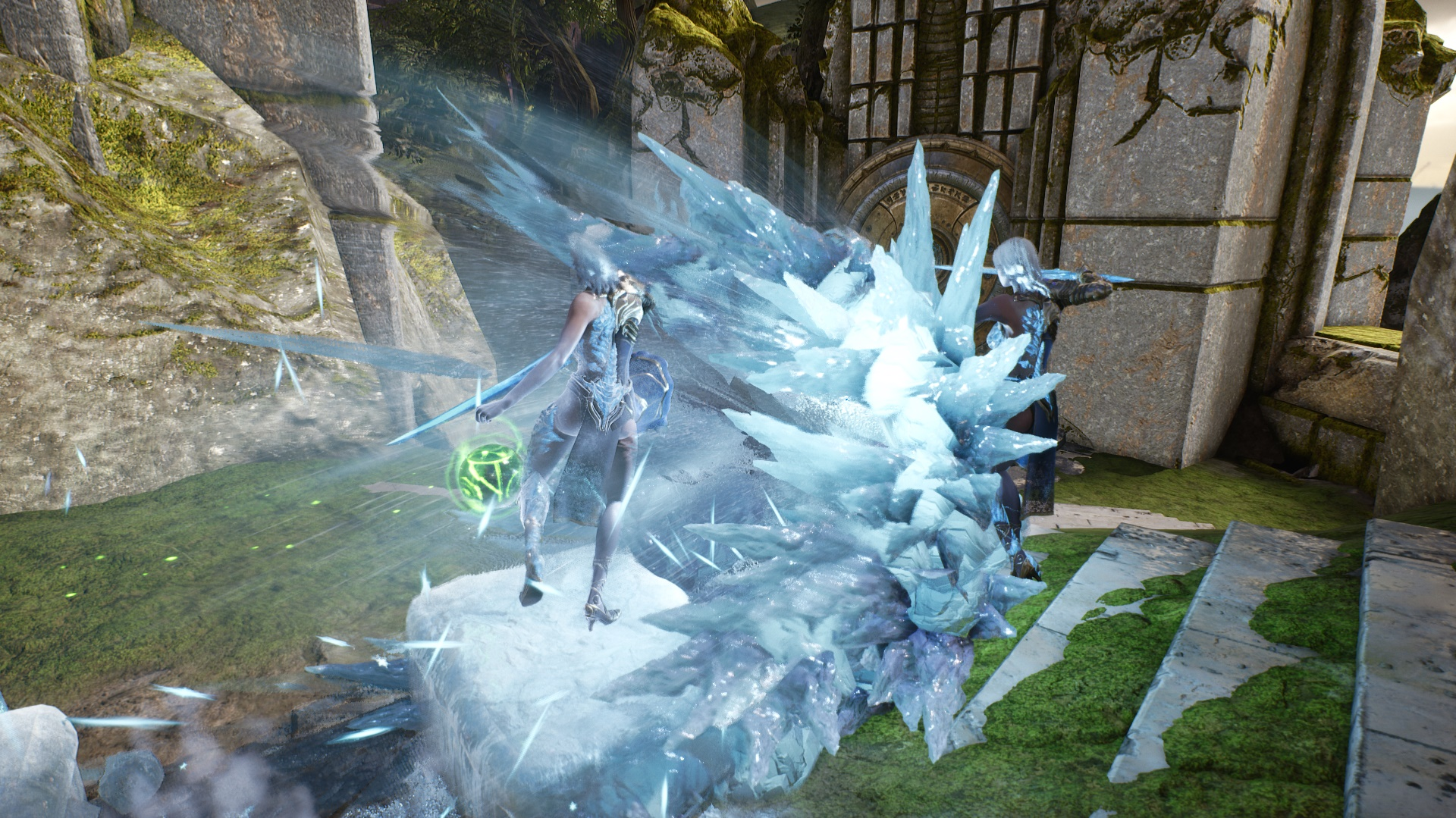 Glacial Charge Side