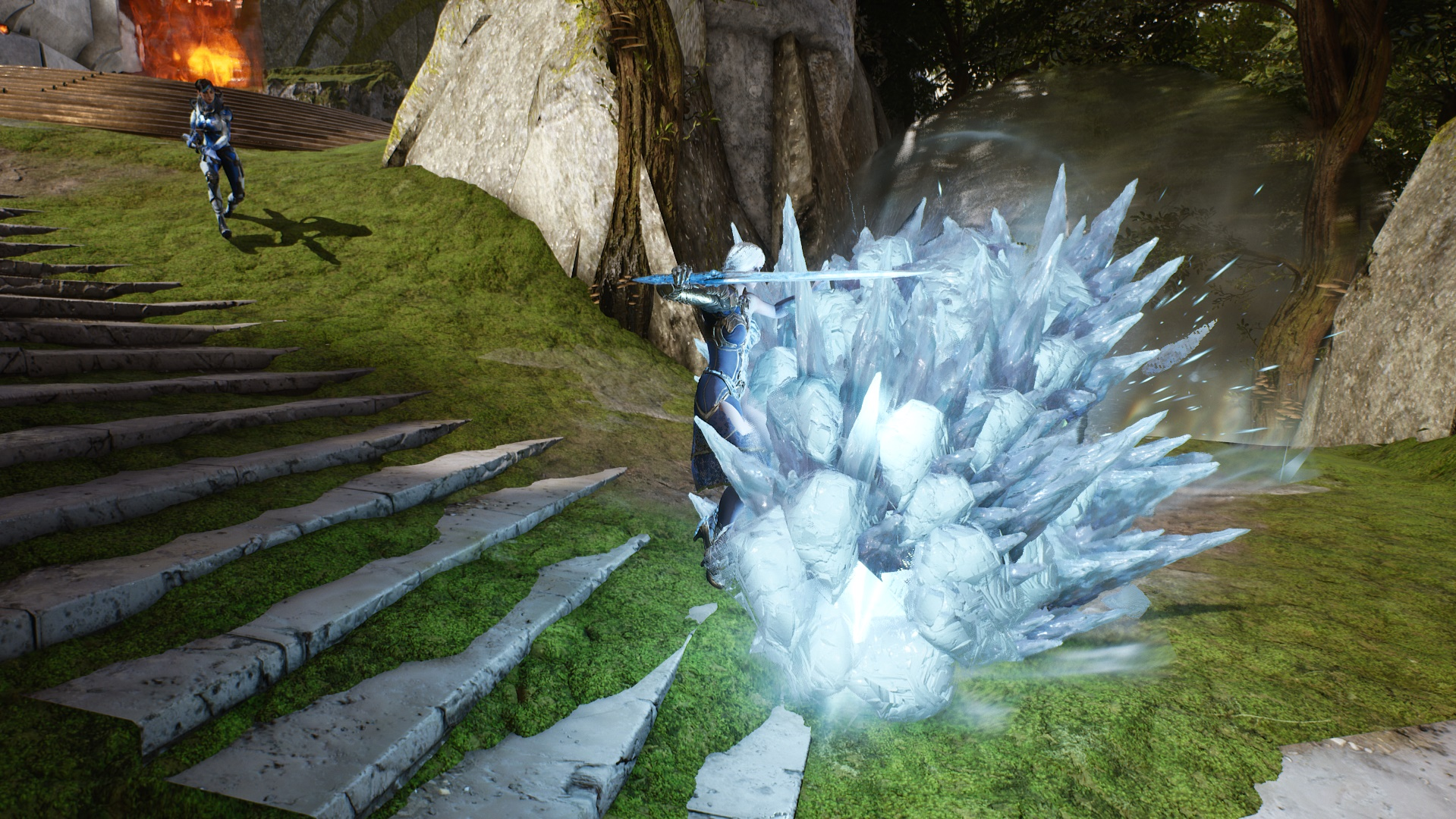 Glacial Charge Front