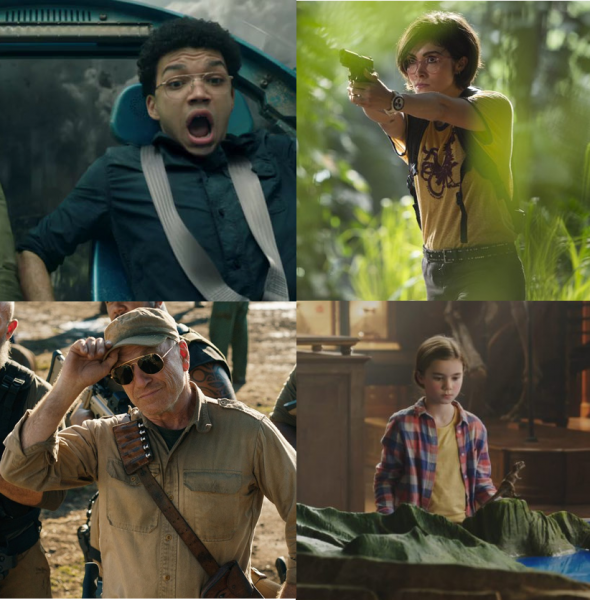 Jurassic World Supporting Cast